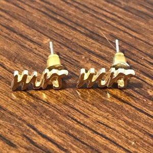 Jewelry - MRS stud earrings